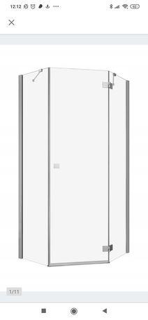 Kabina prysznicowa Radaway Essenza New PTJ 80x80 lewa
