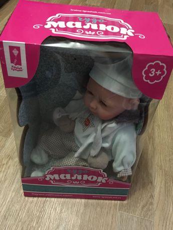 Пупс новый, игрушка кукла