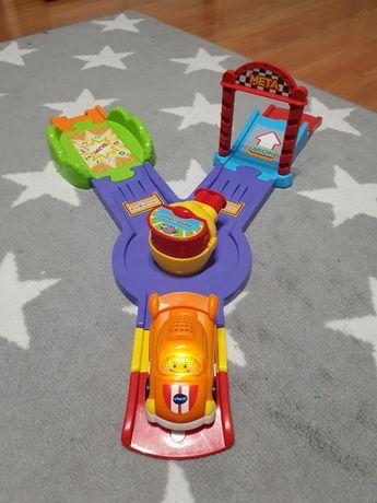 Wyrzutnia pojazdów wyścigówka vtech
