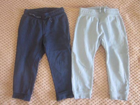 Spodnie dresowe H&M 92 2 pary