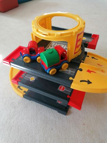 Wader трек для машинок дорога гараж стоянка машинки