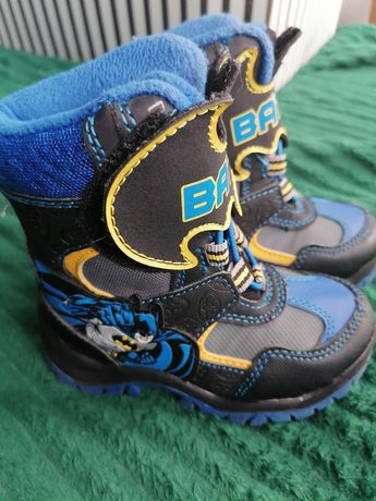 Buty zimowe dla chlopca Batman rozm 23 George