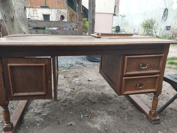 Biurko drewniane stare do renowacji