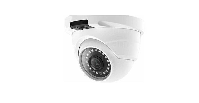 Câmara Vídeo Vigilância* Profissional * PoE* 5MP* Dome* Em Metal*