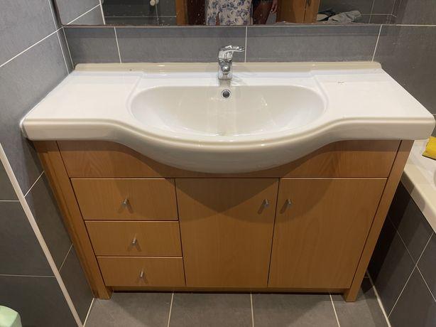 Movel com lavatorio WC (Casa de banho)
