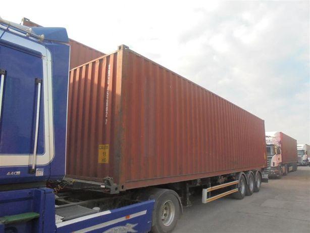 Kontener morski 40 HC 12metrowy - transport HDS!