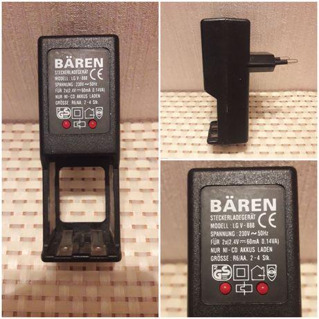 Зарядное устройство Baren lg v-888 для 2-х, 4-х (Ni-Cd) аккумуляторов