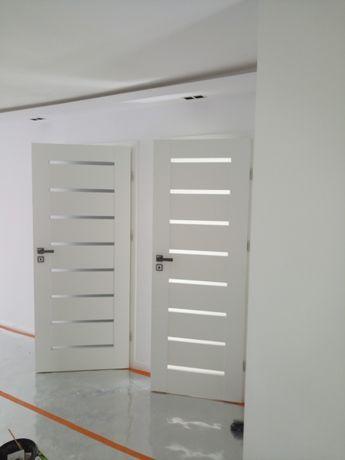 DRZWI WEWNĘTRZNE POKOJOWE nowoczesne ramowe drzwi