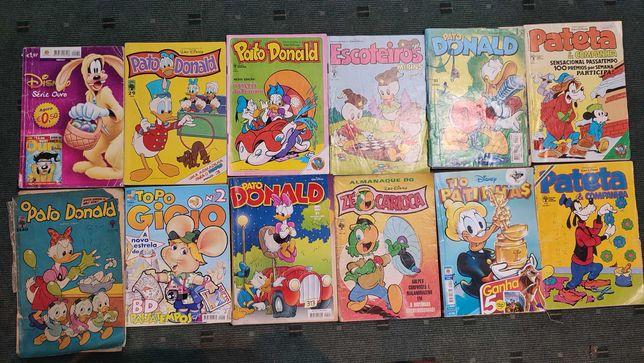 Lote 53 revistas BD Disney