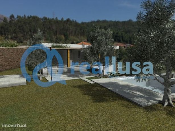 Moradia Isolada com 3 quartos e piscina em Orbacém, Caminha.