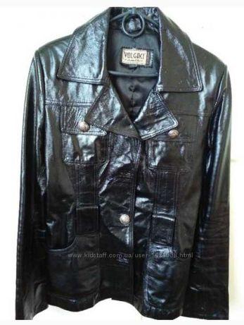 Куртка симпатична лак/кожа