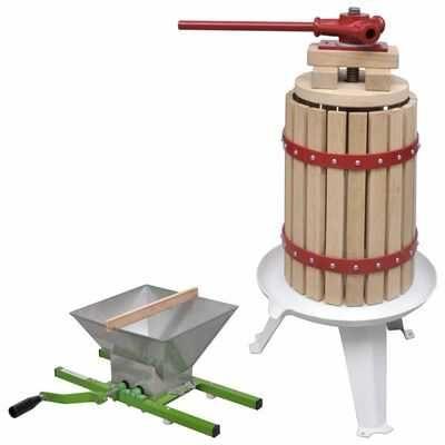 Conjunto de prensa e triturador de fruta e vinho ** Envio Grátis **