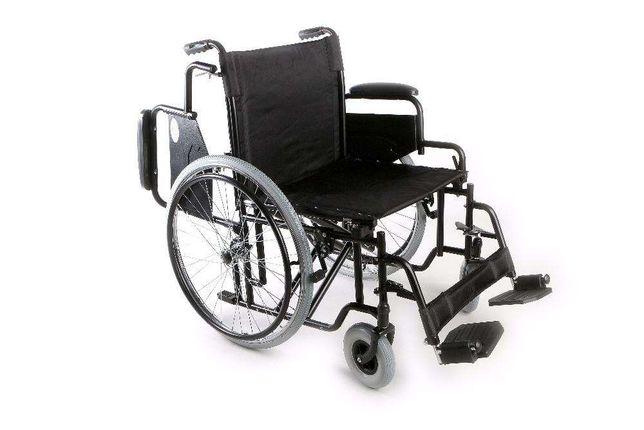 Cadeira de Rodas Grande e Reforçada 51 cm 180 kg