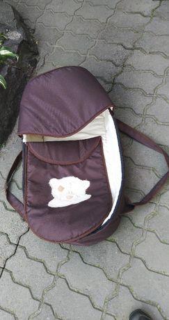 Люлька-переноска Babyroom BLA-056 с твердым дном цвет шоколад