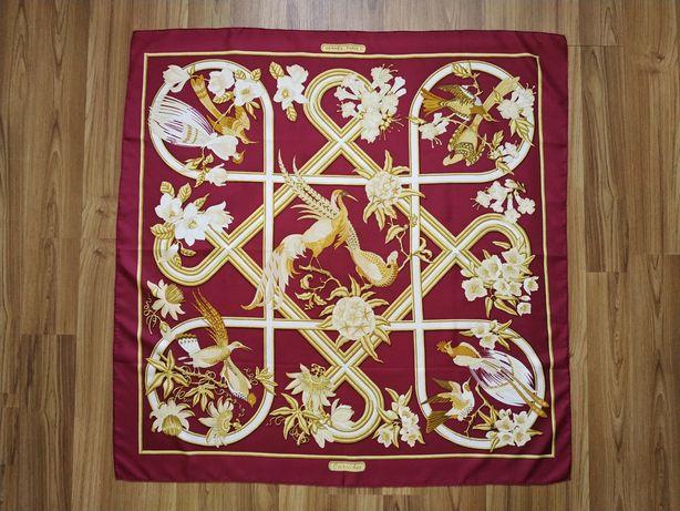 Шовковий платок Hermes Paris celine gucci  оригінал