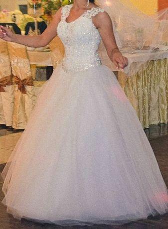 Suknia ślubna 36 biała