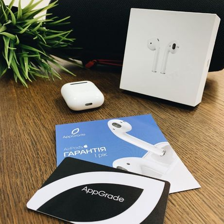 Apple AirPods 2019/2019 with charging case New AppGrade