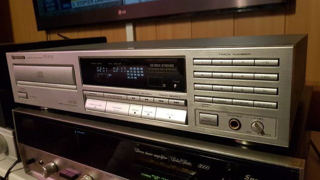 Odtwarzacz CD Pioneer PD-5700 SREBRNY do VINTAGE. Super stan.