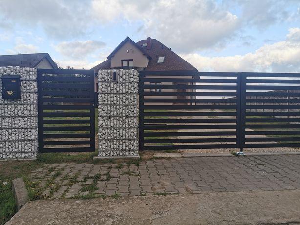 Bramy, ogrodzenia, wiaty metalowe, konstrukcje stalowe