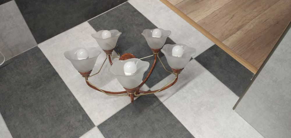 Piękny żyrandol. Lampa sufitowa Gorlice - image 1