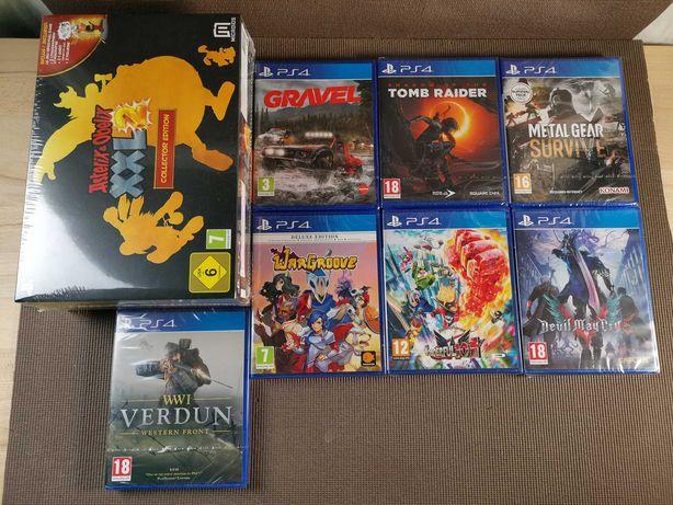 Jogos PS4 Asterix Devil May cry Wonderful 101 Tomb Raider Wargroove