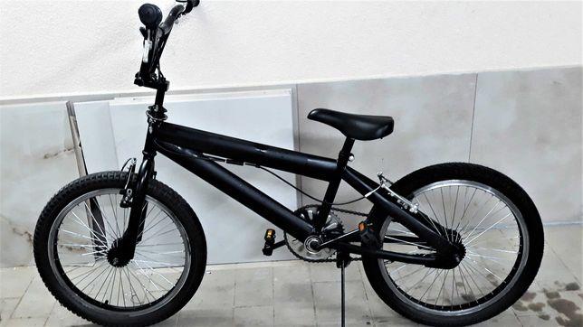 Rower bmx czarny z hamulcem