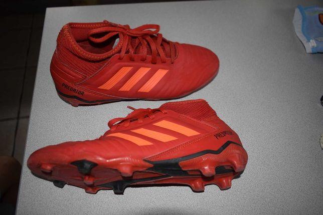 Adidas predator 36 2/3 czerwone
