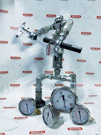 MANOMETR , miernik , ciśnienie , bar , zegar , hydrauliczny