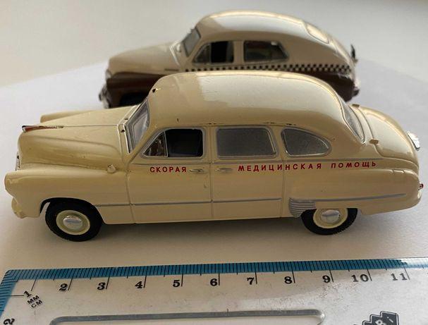 Коллекционные модели авто легенды СССР