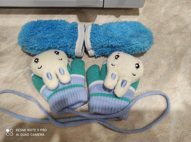 Рукавички / рукавицы для самых маленьких, новые