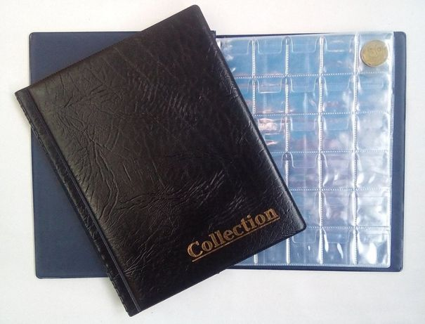 Акция! Альбом для монет Collection Комби 250 ячеек