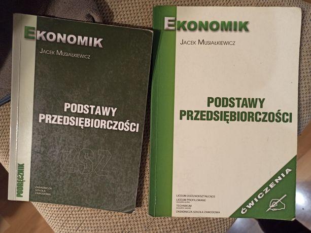 Podstawy przedsiębiorczości podręcznik i ćwiczenia Musiałkiewicz zsz