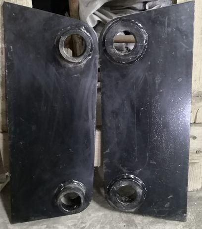 Nowe uszy uchwyty łyżki koparki JCB 3CX 4CX tulejowane