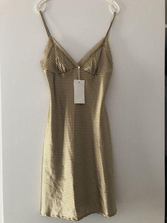 Motivi sukienka złota NOWA