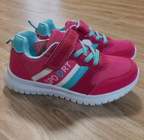 Распродажа! Детские кроссовки на девочку, размеры 26, 28