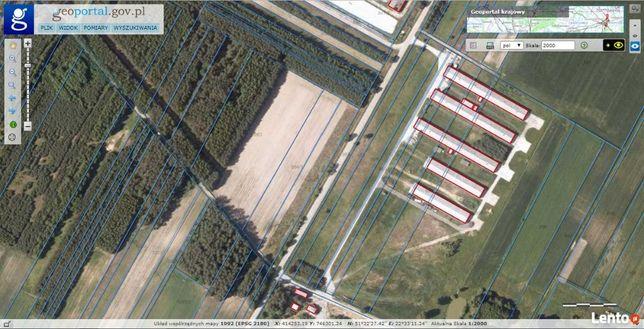 Działka inwestycyjna ( przemysłowa ) 25 000 m2