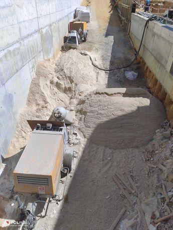 Aluguer de máquinas para betonilhas em todo o país sem caução