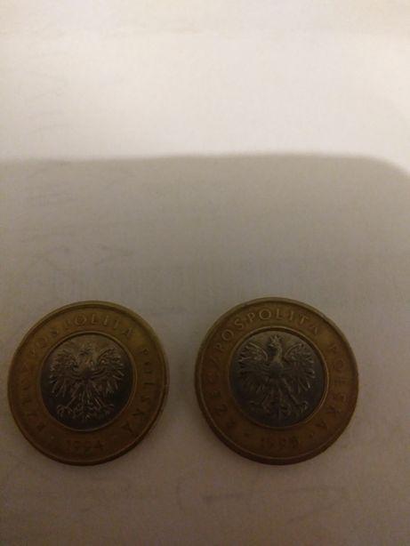Moneta 2 zl rok 94.95 z duza korona