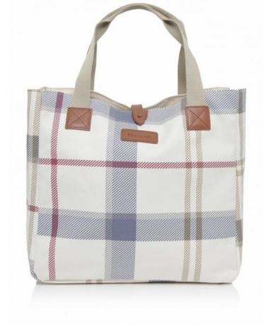 NOWA Torba Barbour w szkocką kratę (Summer Dress Tartan Tote Bag)