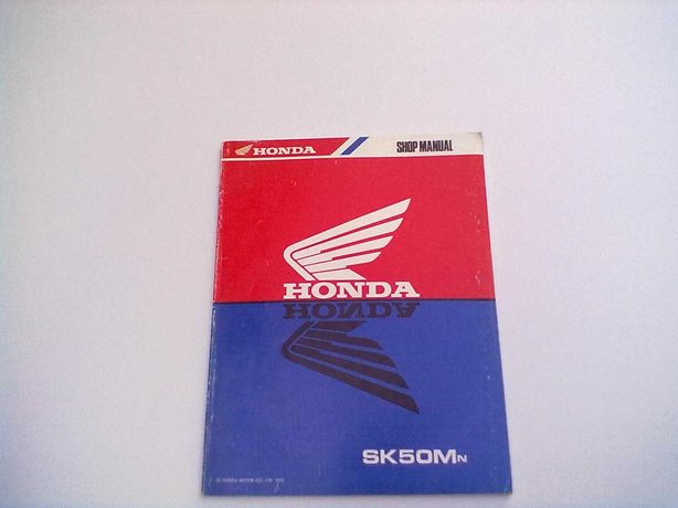 Manual Técnico Oficial Honda DIO SK 50 Mn