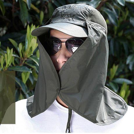 chapéu boina 360º protecção UV sol pesca caminhadas caçadas militar