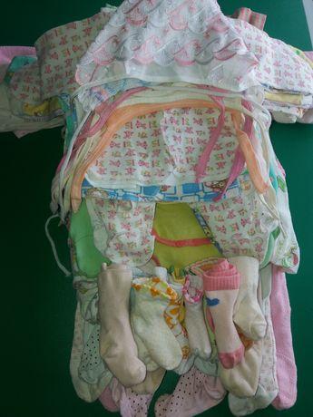 Пакет одягу для дівчинки 0 - 12 місяців