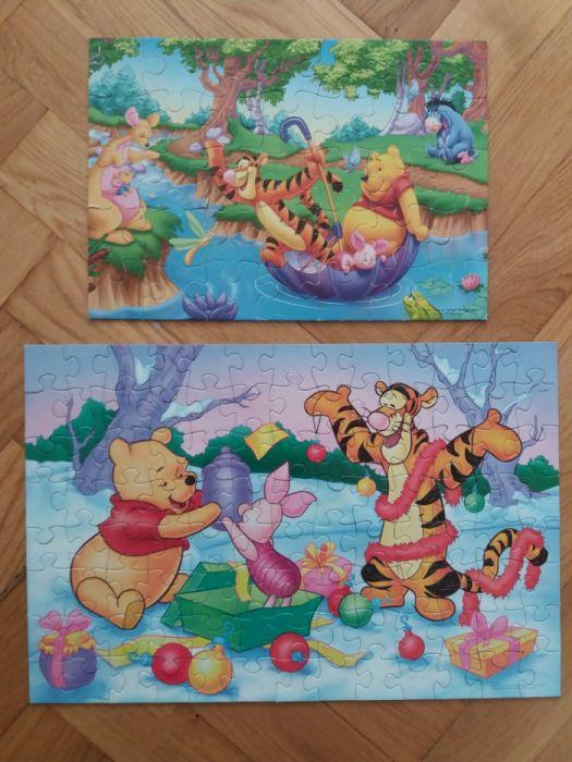 Puzzle Kubuś Puchatek 100 i 35 elem. Wieluń - image 1