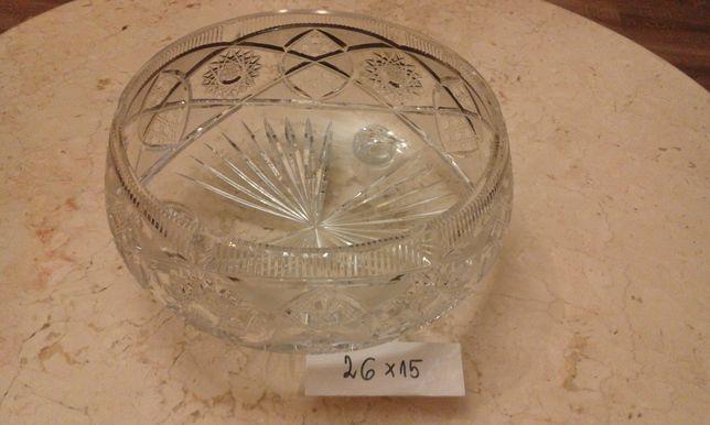 kryształ miska duża