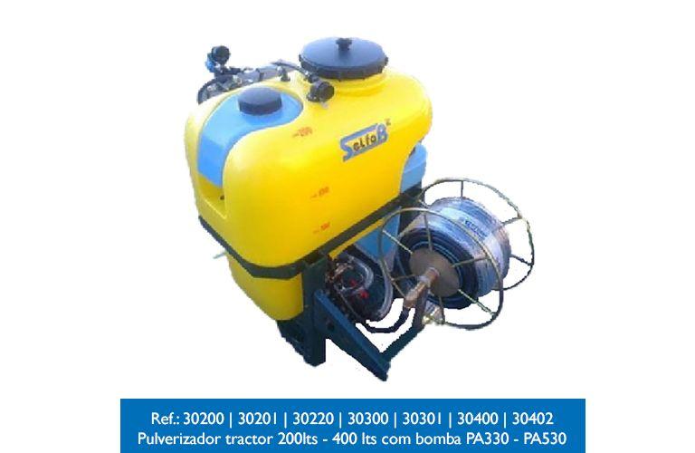 Pulverizador selfab 200 L completo com 50 mts mangueira