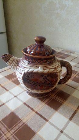 Чайник,заварник,керамический,новый
