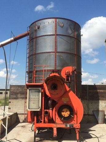 Suszarnia do kukurydzy, zbóż, rzepaku, Pedriotti, duża wydajność