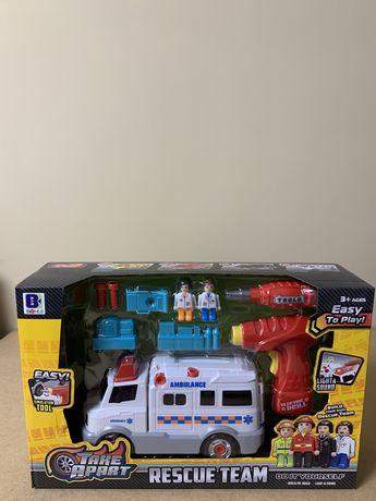 Машина - конструктор Скорая и Полиция