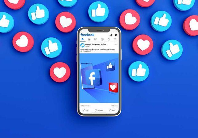 Prowadzenie konta firmowego Facebook   Instagram - Reklama fanpage FB