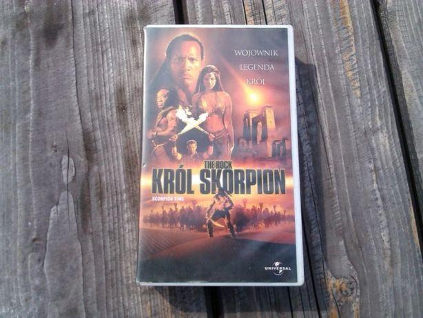 Krol Skorpion- starocie vhs, kasety video